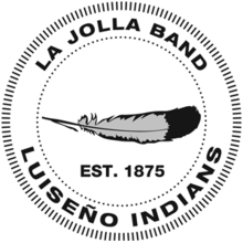 La Jolla Band of Luiseno Indians logo